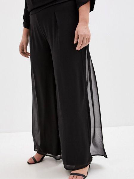 Черные брюки с воротником Keyra