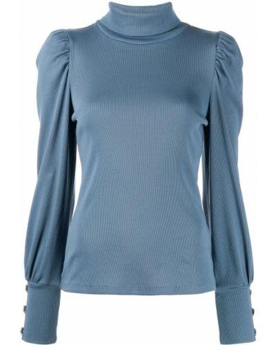 Bluzka srebrna - niebieska Veronica Beard