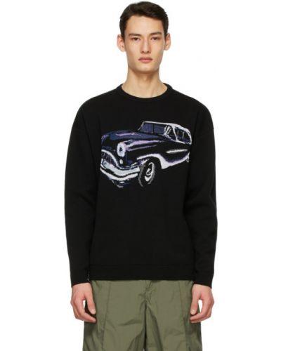 Белый шерстяной длинный свитер с воротником Givenchy