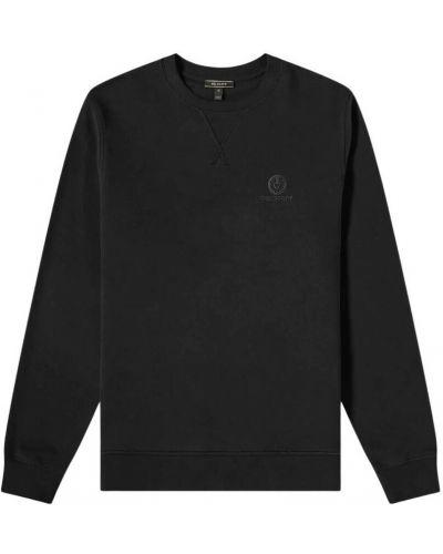 Czarna bluza z haftem Belstaff