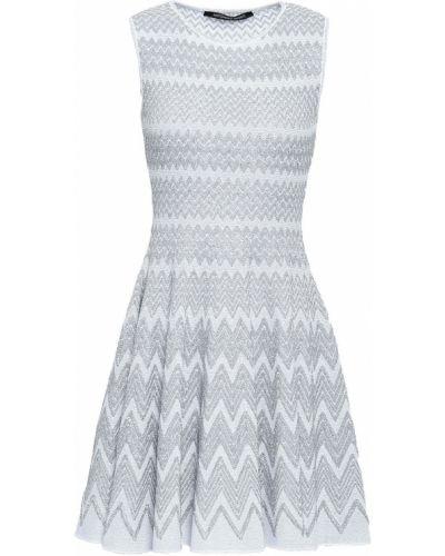 Sukienka mini srebrna Antonino Valenti