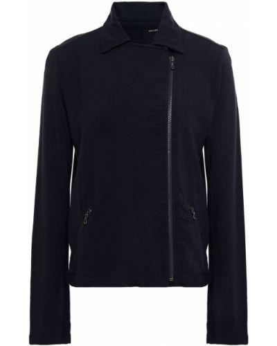 Асимметричная куртка с карманами из вискозы Majestic Filatures