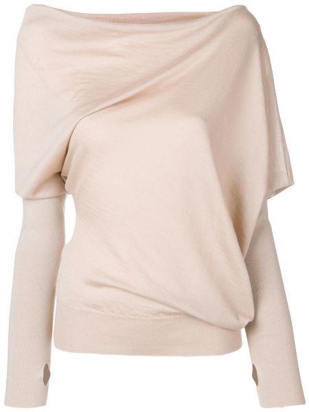Шелковая блузка - коричневая Tom Ford
