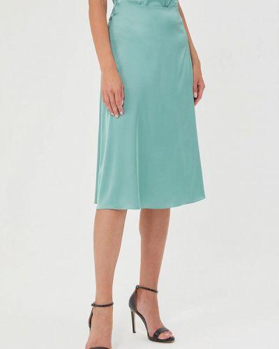 Зеленая юбка свободного кроя Mari Vera