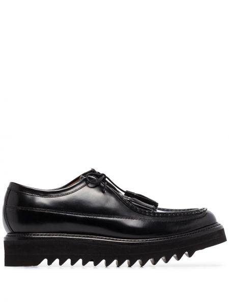 Туфли на шнуровке на шнурках для офиса Grenson