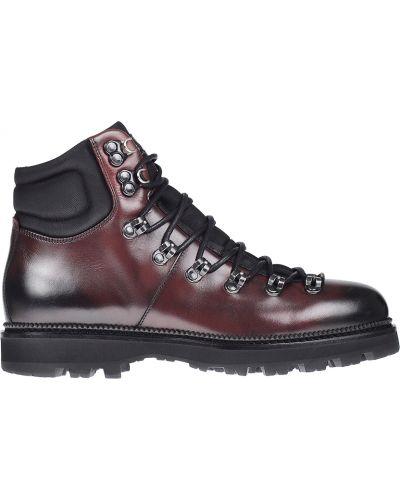 Кожаные ботинки осенние Hugo Boss
