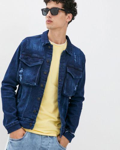 Синяя джинсовая куртка Ombre
