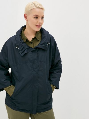 Облегченная синяя куртка Le Monique