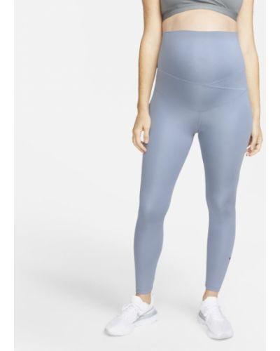 Szare spodnie ciążowe Nike