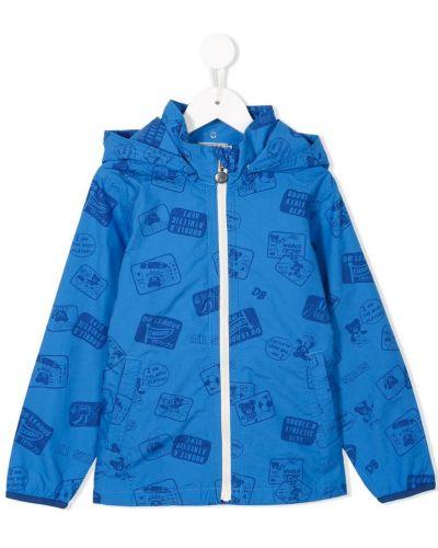 Синяя куртка Miki House