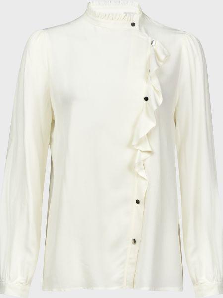 Белая блузка из вискозы на кнопках Ba&sh