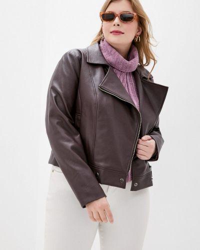 Кожаная куртка - красная авантюра Plus Size Fashion