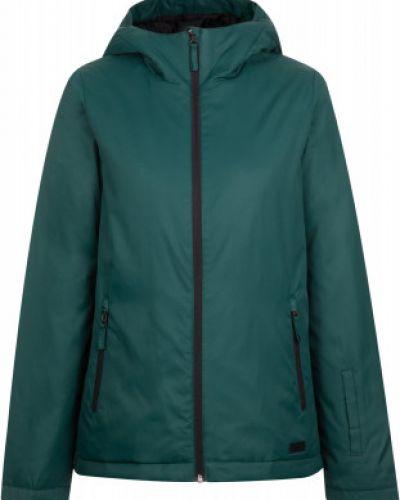 Зеленая утепленная куртка на молнии Termit