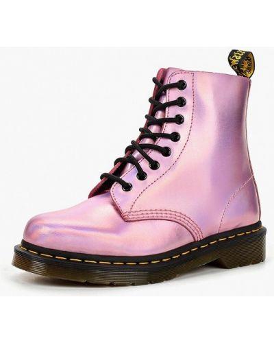 Кожаные ботинки осенние кожаные Dr Martens