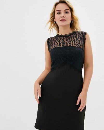 Черное вечернее платье Keyra