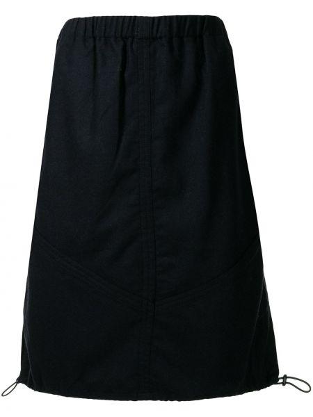 Czarna spódnica wełniana Ymc