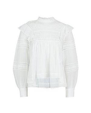 Блузка - белая Isabel Marant Étoile