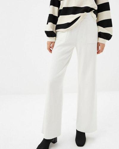 Белые брюки повседневные Zarina