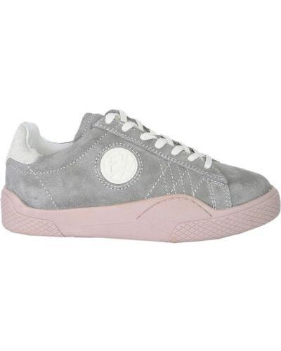 Sneakersy skorzane sznurowane Eytys