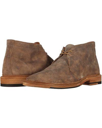 Замшевые ботинки Frye