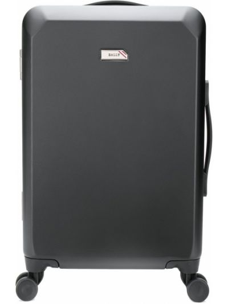 Czarna walizka Bally