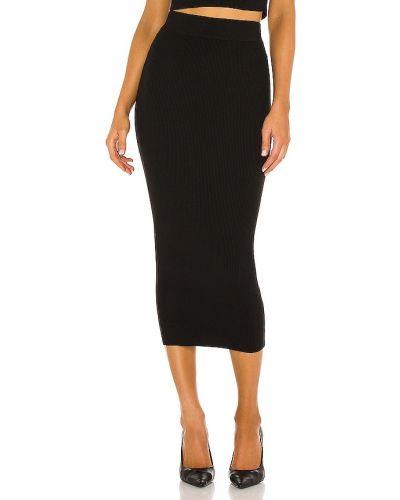 Школьная черная юбка на резинке Misha Collection