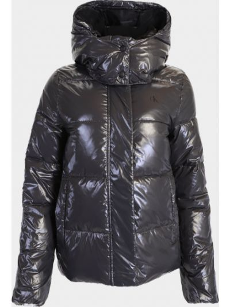 Серая зимняя куртка Calvin Klein