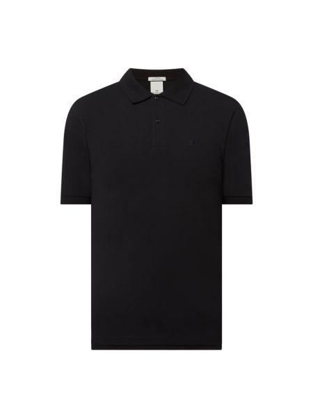 T-shirt bawełniana - czarna Scotch & Soda