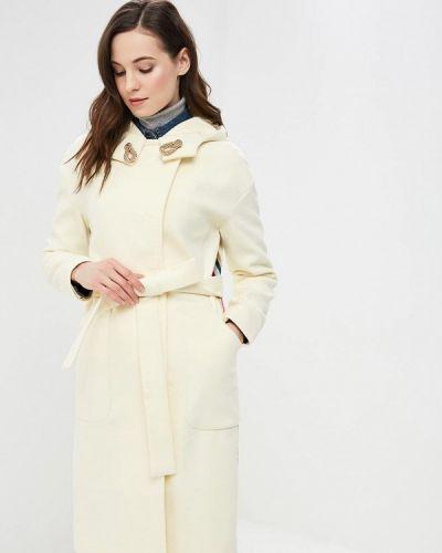 Пальто демисезонное бежевое Grand Style