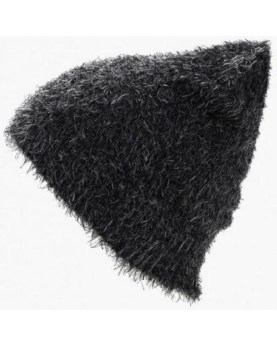 Черная шапка осенняя Sela