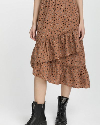 Юбка - коричневая Gloss
