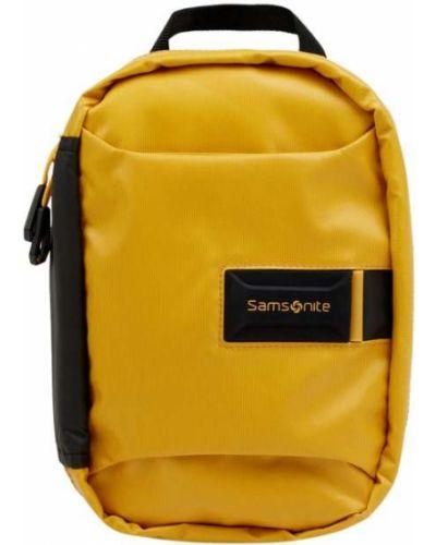 Żółta kosmetyczka Samsonite