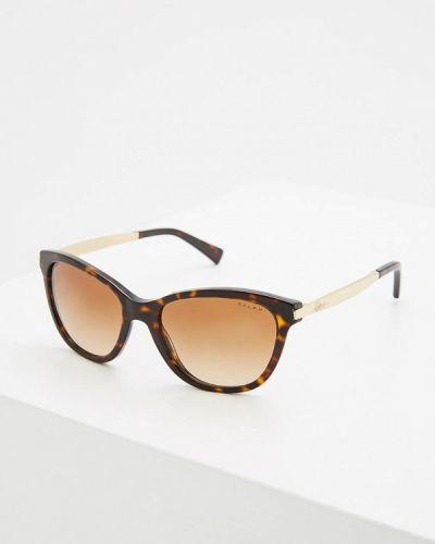 Коричневые солнцезащитные очки Ralph Ralph Lauren