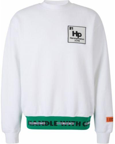Bluza oversize bawełniana z printem Heron Preston