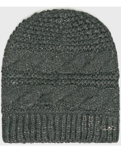 Зимняя шапка серая светло-серый Liu Jo