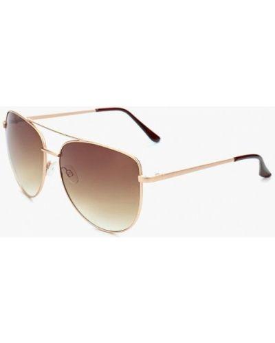 Солнцезащитные очки золотого цвета Modis