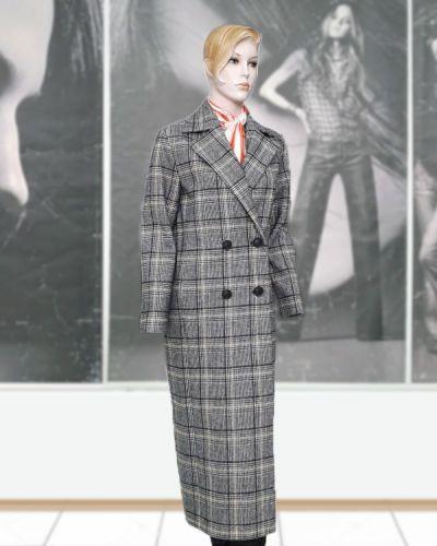 Шерстяное пальто - серое Elvi