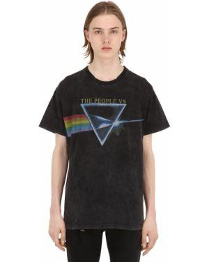 Koszula z kołnierzem z nadrukiem The People Vs