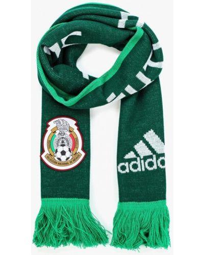 Зеленый шарф Adidas