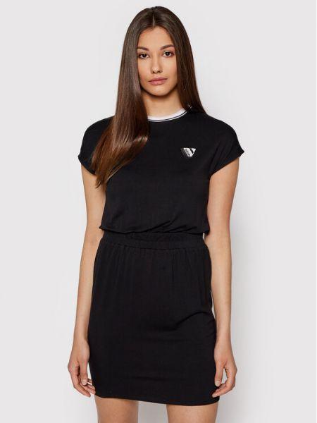 Czarna sukienka casual Volcom