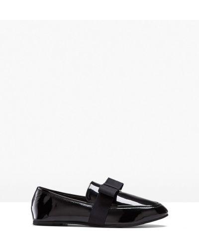 Модные черные слиперы Bonprix