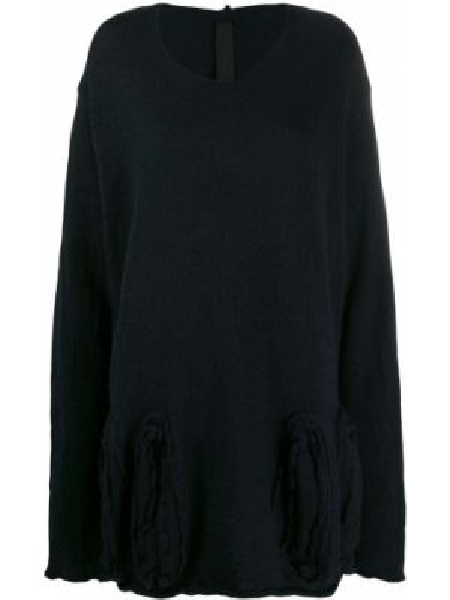 Черный свитер оверсайз Rundholz Black Label