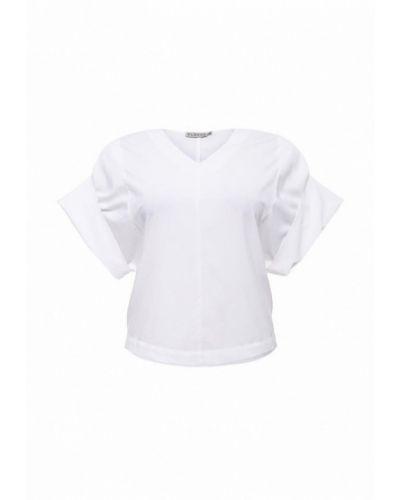 Белая блузка с коротким рукавом Svesta