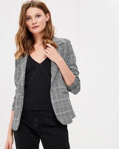 Серый пиджак осенний Ichi