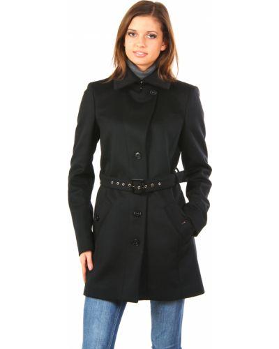 Кашемировое пальто - черное Patrizia Pepe