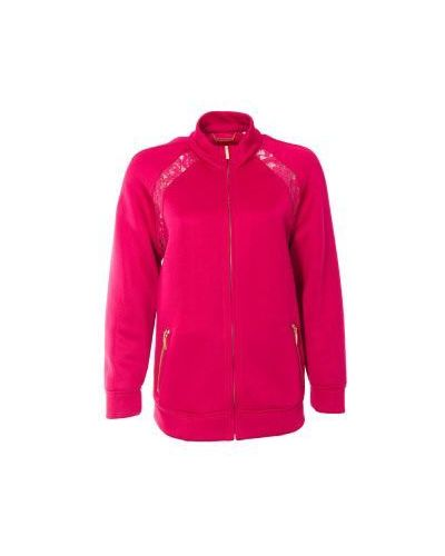 Розовая повседневная олимпийка Alberta Ferretti