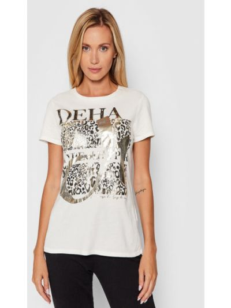 Biała t-shirt Deha