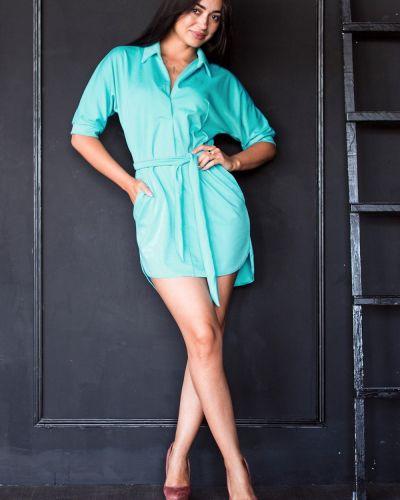 Вечернее платье рубашка с поясом Lacywear