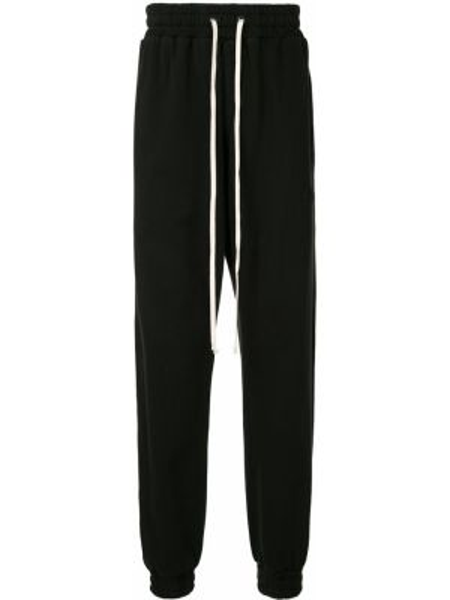 Спортивные черные спортивные брюки с карманами с манжетами Daniel Patrick