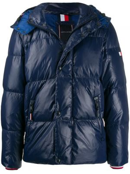 Куртка с капюшоном с манжетами на молнии Tommy Hilfiger